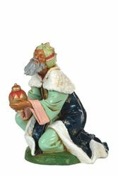 Picture of Wise King Caspar Standing cm 30 (12 Inch) CLASSIC Fontanini Nativity Statue Traditional Colors Plastic