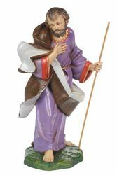 Picture of Saint Joseph cm 30 (12 Inch) CLASSIC Fontanini Nativity Statue Traditional Colors Plastic
