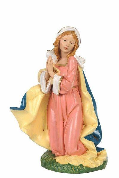 Immagine di Maria CLASSIC cm 30 (12 Inch) Presepe Fontanini Statua in Plastica Colori Tradizionali