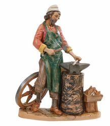 Picture of Blacksmith cm 30 (12 Inch) Fontanini Nativity Statue hand painted Plastic