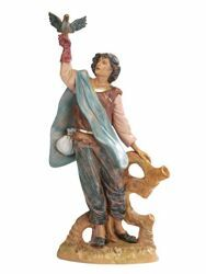 Picture of Falconer cm 30 (12 Inch) Fontanini Nativity Statue hand painted Plastic