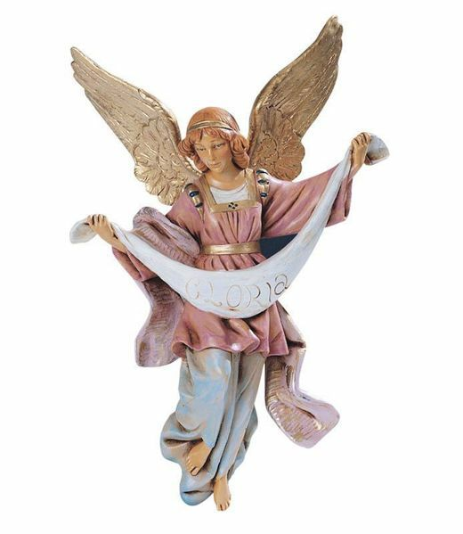 Immagine di Angelo Gloria cm 30 (12 Inch) Presepe Fontanini Statua in Plastica dipinta a mano