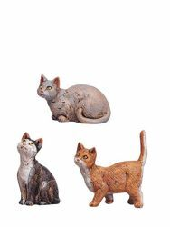 Picture of Cats cm 30 (12 Inch) Fontanini Nativity Statue hand painted Plastic