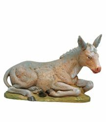 Picture of Donkey cm 30 (12 Inch) Fontanini Nativity Statue hand painted Plastic