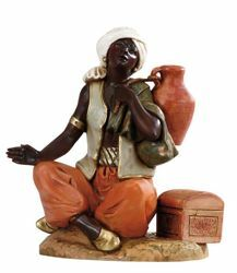 Picture of Sitting Cameleer cm 30 (12 Inch) Fontanini Nativity Statue hand painted Plastic