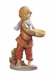 Picture of Shepherd cm 30 (12 Inch) Fontanini Nativity Statue hand painted Plastic
