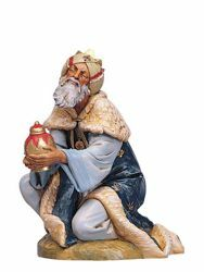 Picture of Wise King Caspar Standing cm 30 (12 Inch) Fontanini Nativity Statue hand painted Plastic