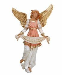 Picture of Glory Angel cm 45 (18 Inch) Fontanini Nativity Statue hand painted Plastic