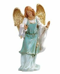 Picture of Standing Angel cm 45 (18 Inch) Fontanini Nativity Statue hand painted Plastic