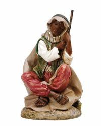 Picture of Cameleer Shepherd cm 45 (18 Inch) Fontanini Nativity Statue hand painted Plastic