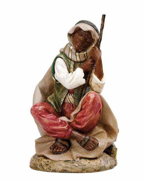 Immagine di Pastore Cammelliere cm 45 (18 Inch) Presepe Fontanini Statua in Plastica dipinta a mano