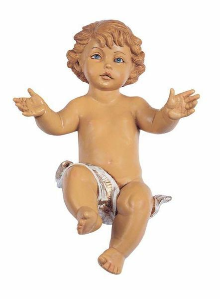 Picture of Baby Jesus cm 45 (18 Inch) Fontanini Nativity Statue hand painted Plastic