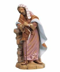 Picture of Saint Joseph cm 45 (18 Inch) Fontanini Nativity Statue hand painted Plastic