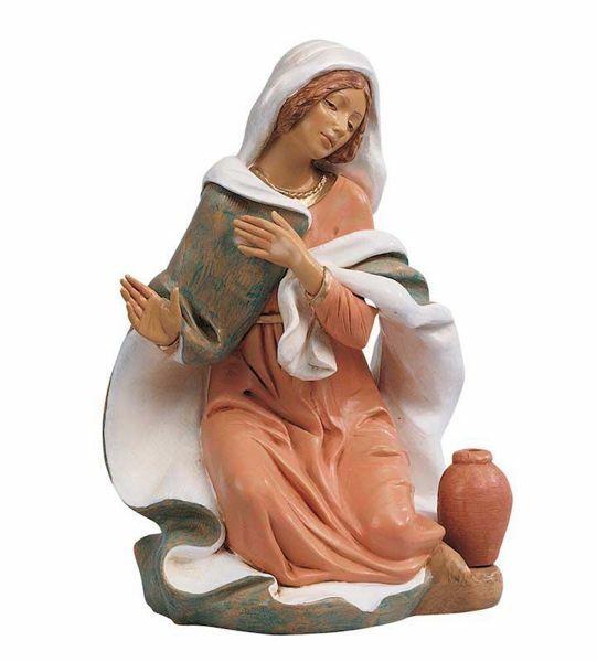 Immagine di Maria cm 45 (18 Inch) Presepe Fontanini Statua in Plastica dipinta a mano