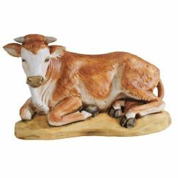 Picture of Ox cm 52 (20 Inch) Fontanini Nativity Statue for Outdoor use, hand painted Resin