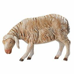 Picture of Standing Sheep cm 85 (34 Inch) Fontanini Nativity Statue for Outdoor use, hand painted Resin