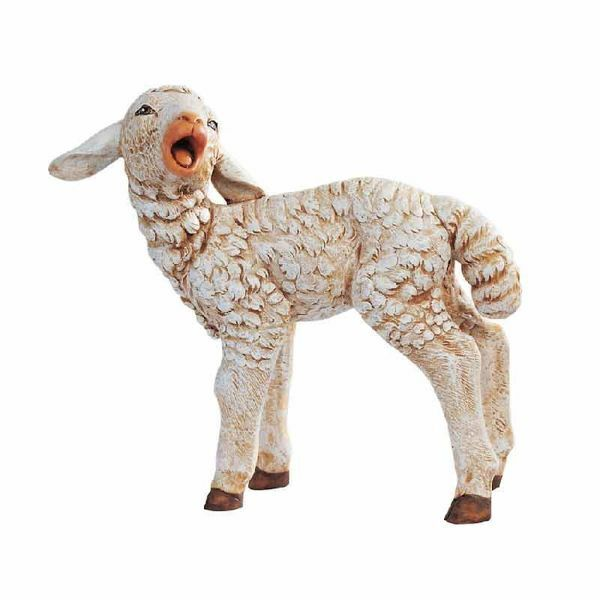 Picture of Lamb cm 125 (50 Inch) Fontanini Nativity Statue for Outdoor use, hand painted Resin