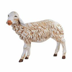 Picture of Standing Sheep cm 125 (50 Inch) Fontanini Nativity Statue for Outdoor use, hand painted Resin