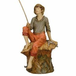 Picture of Fisherman cm 125 (50 Inch) Fontanini Nativity Statue for Outdoor use, hand painted Resin