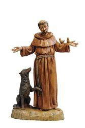 Picture of St. Francis of Assisi cm 40 (16 Inch) hand painted Plastic Statue
