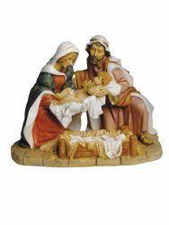 Picture of Holy Family cm 40 (16 Inch) hand painted Resin Statue for Outdoor Use