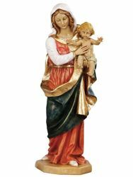 Picture of Madonna and Child cm 51 (20 Inch) hand painted Resin Fontanini Statue for Outdoor Use