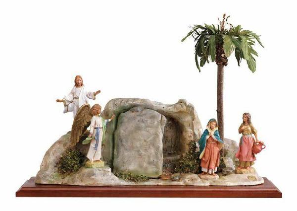 Immagine di Resurrezione cm 12 (5 Inch) Presepe Fontanini Scena Vita di Cristo Statua in Plastica (PVC) dipinta a mano
