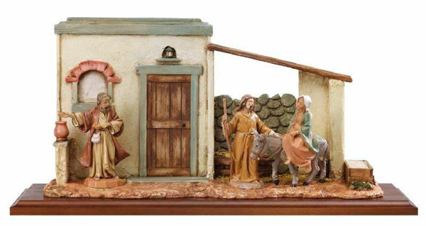 Picture of Harborage Search cm 12 (5 Inch) Life of Christ Scene Fontanini Nativity Statue hand painted in Plastic (PVC)