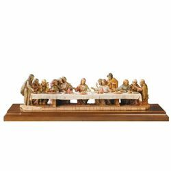 Picture of Last Supper cm 12 (5 Inch) Life of Jesus Fontanini Nativity hand painted in Plastic (PVC)