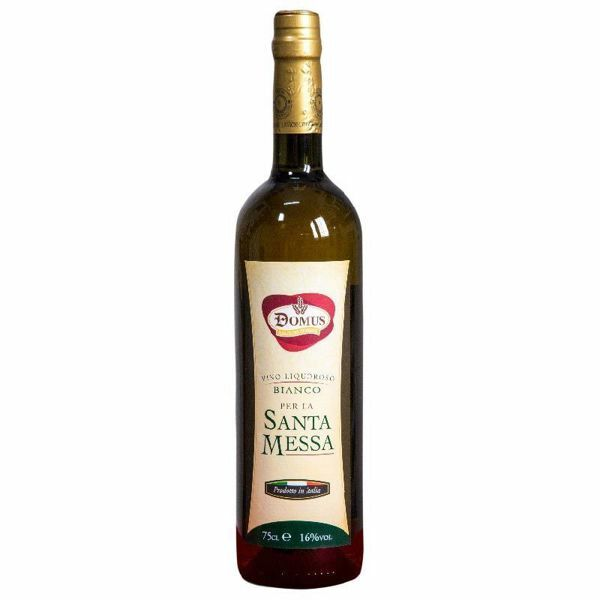 Picture of Altar Wine - sweet white Sacramental wine by Domus 75 cl