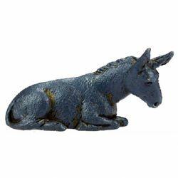 Picture of Donkey cm 3,5 (1,4 inch) Landi Moranduzzo Nativity Scene in PVC, Neapolitan style