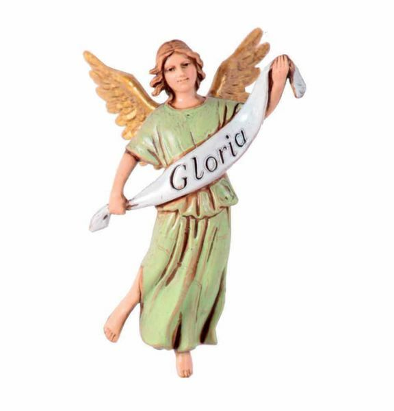 Picture of Glory Angel cm 10 (3,9 inch) Landi Moranduzzo Nativity Scene in PVC, Arabic style