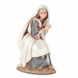 Picture of Mary / Madonna cm 10 (3,9 inch) Landi Moranduzzo Nativity Scene in PVC, Arabic style