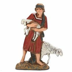 Picture of Good Shepherd cm 10 (3,9 inch) Landi Moranduzzo Nativity Scene in PVC, Arabic style