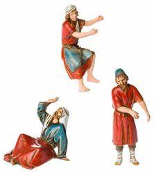 Picture of Potter, Builder, Shepherd Set cm 10 (3,9 inch) Landi Moranduzzo Nativity Scene in PVC, Arabic style