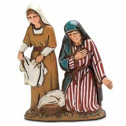 Picture of Washerwomen cm 10 (3,9 inch) Landi Moranduzzo Nativity Scene in PVC, Arabic style