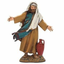 Picture of Man with Pot cm 10 (3,9 inch) Landi Moranduzzo Nativity Scene in PVC, Arabic style