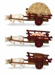 Picture of Carriages cm 6 (2,4 inch) Landi Moranduzzo Nativity Scene in PVC, Neapolitan style