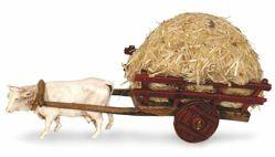 Picture of Carriage with Hay cm 6 (2,4 inch) Landi Moranduzzo Nativity Scene in PVC, Neapolitan style