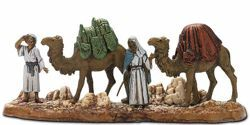 Picture of Cameleers Set cm 6 (2,4 inch) Landi Moranduzzo Nativity Scene in PVC, Neapolitan style