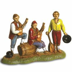 Picture of Musicians Set cm 6 (2,4 inch) Landi Moranduzzo Nativity Scene in PVC, Neapolitan style