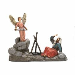 Picture of Annunciation Set cm 10 (3,9 inch) Landi Moranduzzo Nativity Scene in PVC, Arabic style