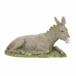 Picture of Donkey cm 10 (3,9 inch) Landi Moranduzzo Nativity Scene in PVC, Arabic style