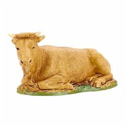 Picture of Ox cm 10 (3,9 inch) Landi Moranduzzo Nativity Scene in PVC, Arabic style