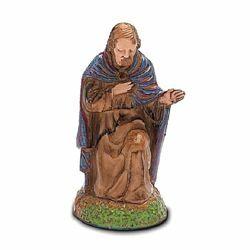 Picture of Saint Joseph cm 6 (2,4 inch) Landi Moranduzzo Nativity Scene in PVC, Neapolitan style