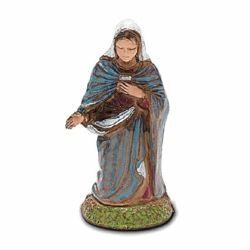 Picture of Mary / Madonna cm 6 (2,4 inch) Landi Moranduzzo Nativity Scene in PVC, Neapolitan style