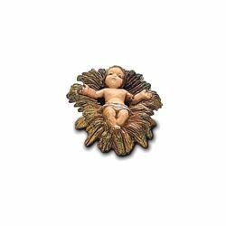 Imagen de Niño Jesús cm 6 (2,4 inch) Belén Landi Moranduzzo en PVC, estilo Napolitano