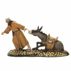 Picture of Flight Set cm 10 (3,9 inch) Landi Moranduzzo Nativity Scene in PVC, Arabic style