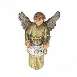 Picture of Glory Angel cm 3,5 (1,4 inch) Landi Moranduzzo Nativity Scene in PVC, Neapolitan style