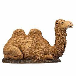 Imagen de Camello arrodillado cm 8 (3,1 inch) Belén Landi Moranduzzo en PVC, estilo Napolitano